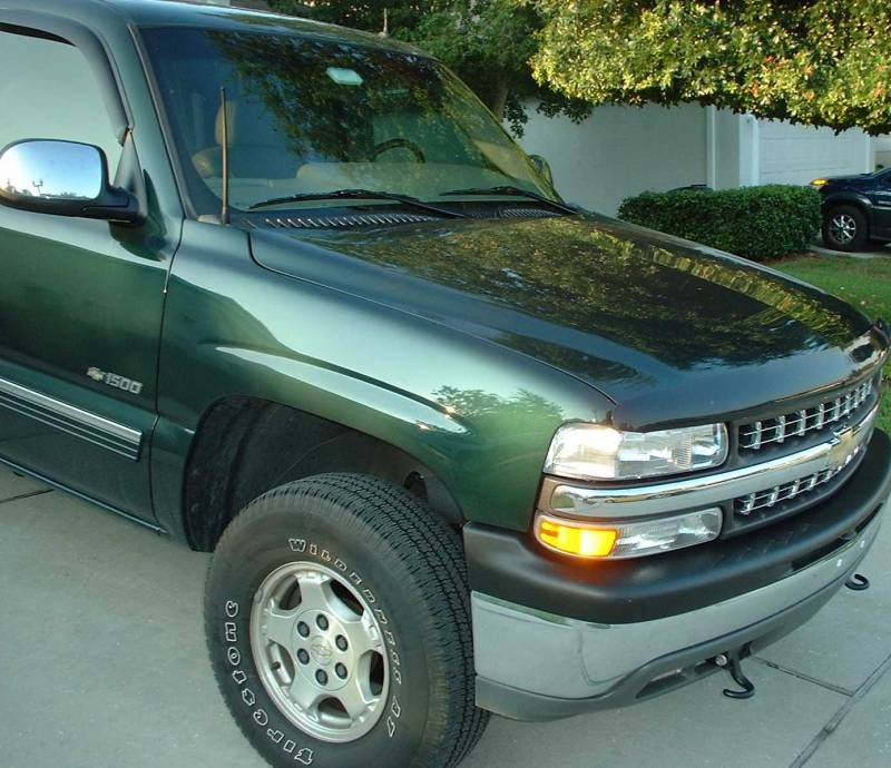 Off-Road (13-inch) ANTENNA - 2007 thru 2019 Chevy 1500 Silverado