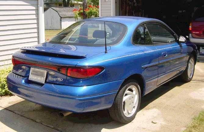 EuroStyle (13-inch) ANTENNA - 1998 thru 2005 Ford Escort ZX2