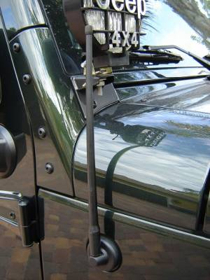 AntennaX - Off-Road (13-inch) ANTENNA - 2007 thru 2020 Jeep WRANGLER JK JL & Gladiator JT - Image 4