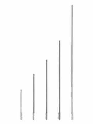 AntennaX - AntennaX 50 Cal Black Billet (5.5-inch) Ammo Antenna for Kia Sephia - Image 2