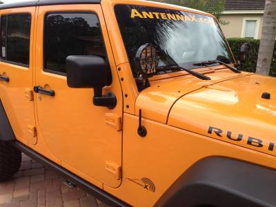 AntennaX - AntennaX The Shorty (5-inch) ANTENNA for Jeep WRANGLER JK JL & Gladiator JT - Image 2