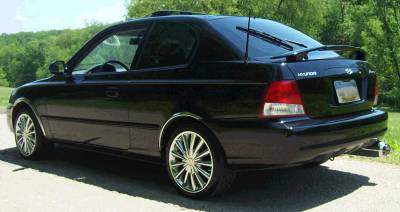 Hyundai - Accent - AntennaX - EuroStyle (13-inch) ANTENNA for 1998 thru 2006 Hyundai Accent