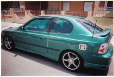 AntennaX - EuroStyle (13-inch) ANTENNA for 1998 thru 2006 Hyundai Accent - Image 2