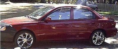 AntennaX - EuroStyle (13-inch) ANTENNA for 1998 thru 2006 Hyundai Sonata - Image 4